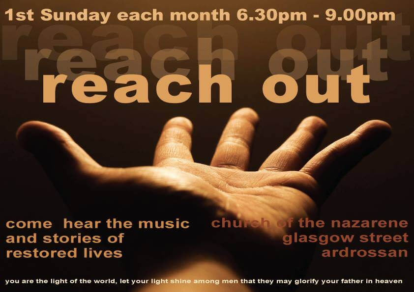 Reach Out Poster